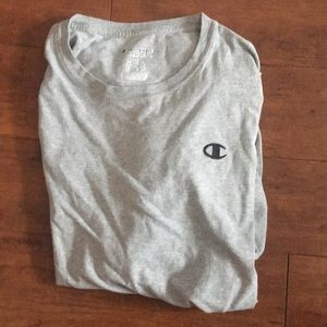 Champion XL Gray Long Sleev Shirt